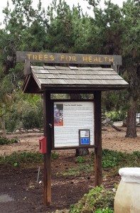 Trees For Health Sign